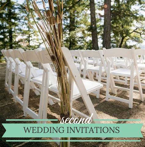 unique wedding invitation wording second - Second Time Wedding Invitations