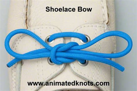 shoelace how to tie a shoelace bow knots