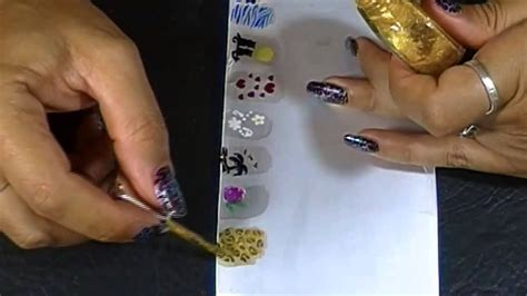 fotos de uñas acrilicas gratis como hacer stickers para u 241 as caseros ii youtube