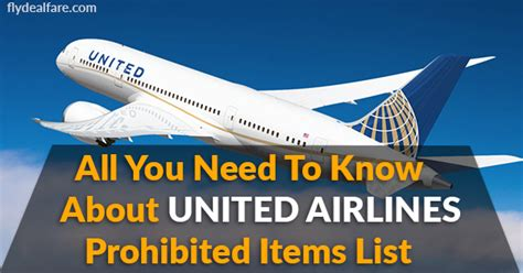 All You Need To Know About United Airline S Baggage | fly deal fare blog travel with ease