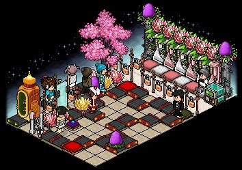 The Highlight Room lynn with habbo answers fansite highlight habbosphere badge
