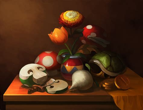 mario painting mario still by photia on deviantart
