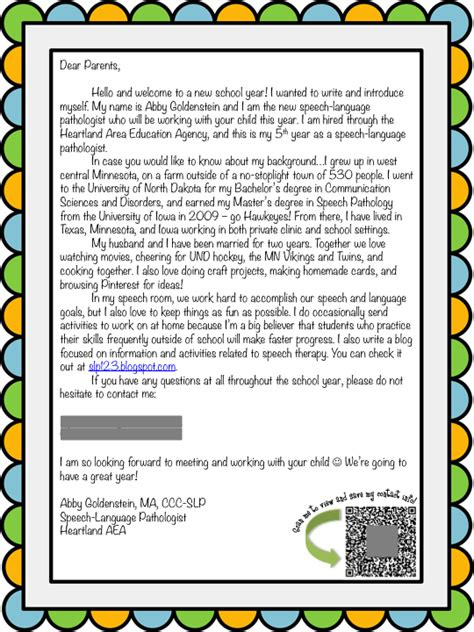 Letter Of Introduction To Host Family best photos of preschool introduction letter to