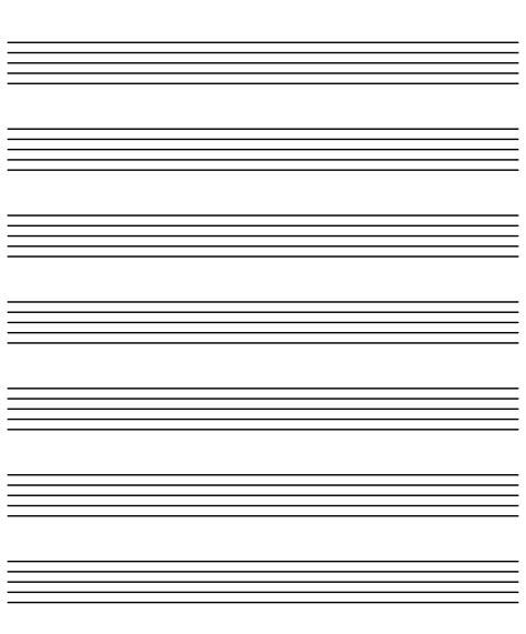 music staff paper template free piano keyboard pdf plus music