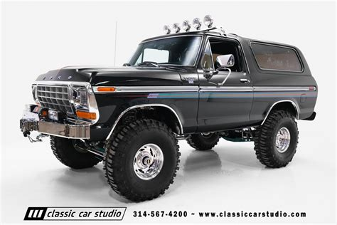ford bronco 1978 ford bronco classic car studio