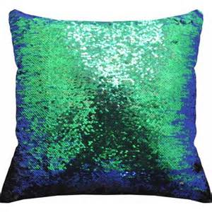 mainstays reversible sequin decorative throw pillow 17 quot x17