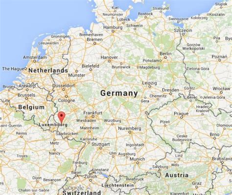 maps germany directions image gallery trier map