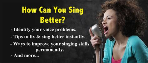 how to sing better step by step tutorials