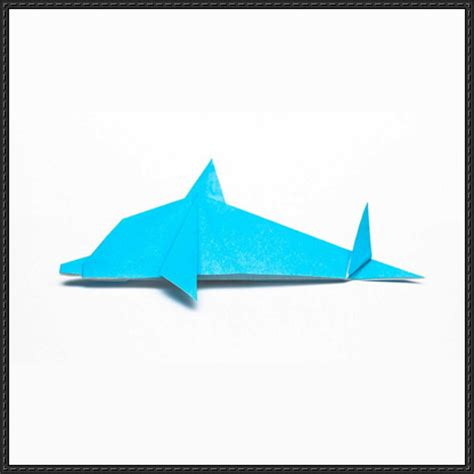 Dolphin Origami - papercraftsquare new paper craft how to fold a