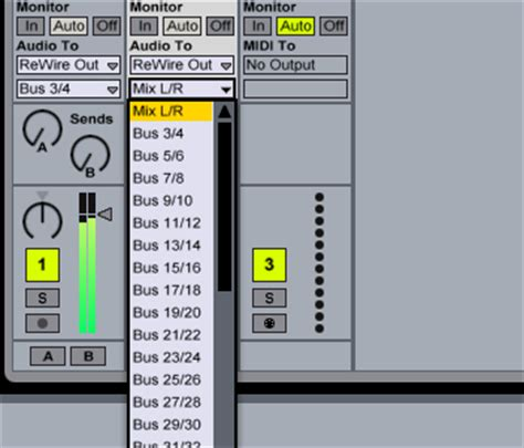 how do i rewire ableton live with n track