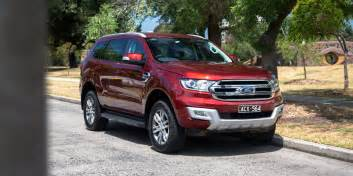 Ford Reviews 2016 Ford Everest Trend Review Caradvice