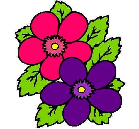 imagenes en ingles de flores dibujo de flores pintado por plantas en dibujos net el d 237 a