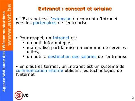 concepts dinternet intranet et extranet n apercu de ce qui peut extranet