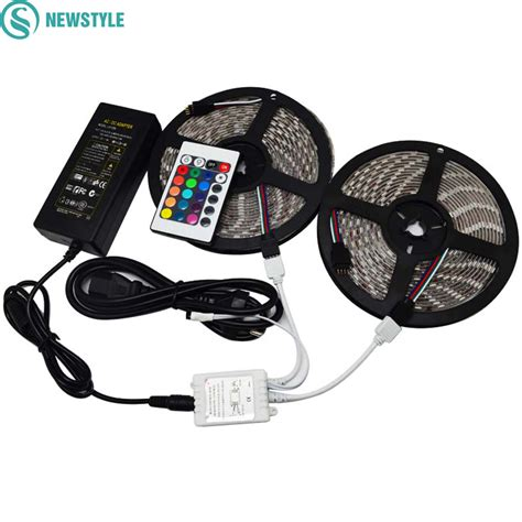 Led Putih Smd 3014 With Controller Eu 220v 10m led strips 10 m buy 10m 5 pin led rgb extension cable wire for 5050 rgb led 10m 60