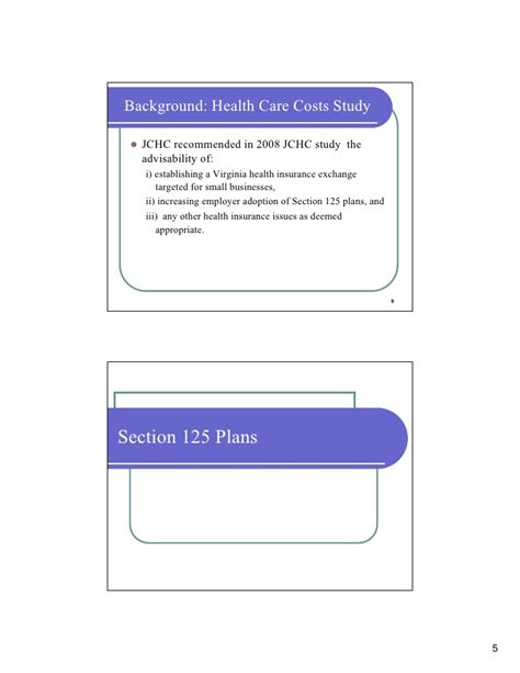 Section 125 Benefit Plan by Section 125 Plans Benefits Of Section 125 Plans