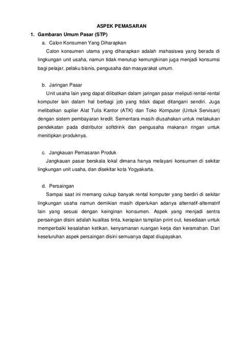 contoh format bisnis plan makanan contoh bisnis plan rental ps contoh waouw