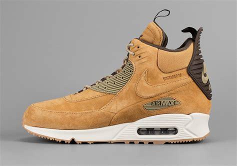 air max 90 sneaker boot nike air max 90 sneakerboot wheat sneaker bar detroit