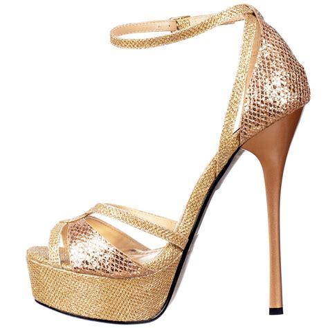 gold high heels for gold open toe high heels qu heel