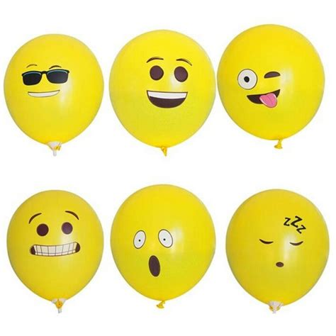 Balon Tiup Emoticon 100 Pcs popular smiley buy cheap smiley lots from china smiley suppliers on aliexpress