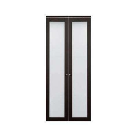 Bifold Closet Doors With Frosted Glass 30 X 80 Bi Fold Doors Interior Closet Doors The Home Depot
