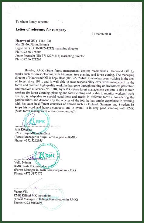 sample employment reference letter letters font with reference