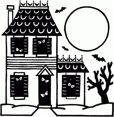 free printable haunted house template free printable haunted house template images