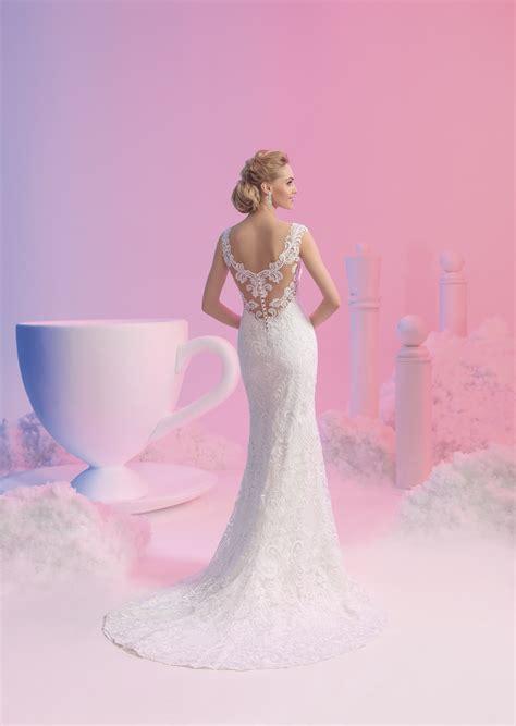Preiswerte Brautmode by Brautkleid Elizabeth Mit Toller R 252 Ckenansicht