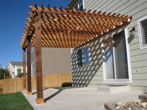 how to build a pergola attached to the house lovely simple pergola attached to house garden landscape