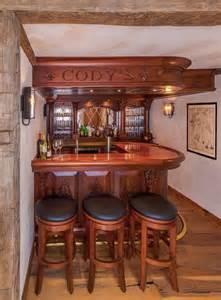 English style basement pub   Traditional   Home Bar