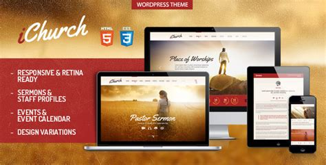 wordpress ichurch responsive church wordpress theme