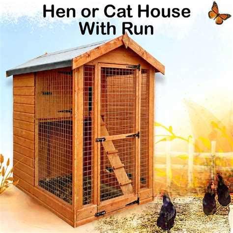 Cat Shed by Popular Hen Houses Hen House Or Cattery Birstall