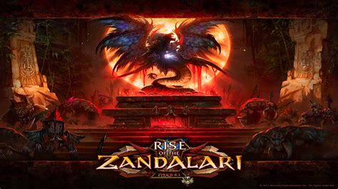 Blood Of Gods wow patch 4 1 rise of the zandalari altar of the