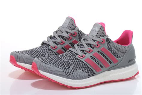 adidas ultra boost gray pink shoes w12u9865