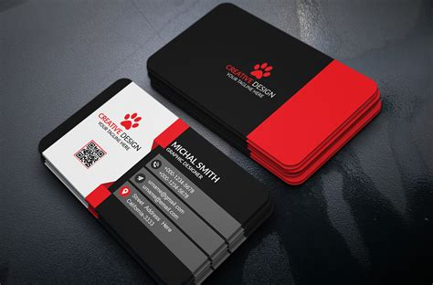 4 side free psd business card templates 300 best free business card psd and vector templates
