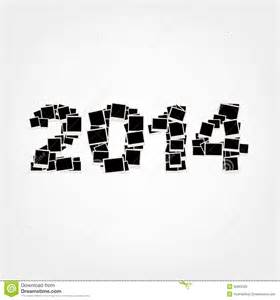 new year card 2014 insert your photos into frames royalty free stock photo image 30362335