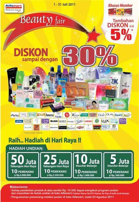 Teh Kotak Di Alfamart diskon 30 alfamart fair 1 31 juli 2011 info pameran versi beta