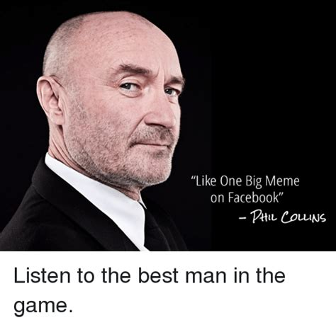Phil Collins Meme - funny facebook memes and the game memes of 2016 on sizzle