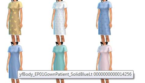 hospital gown sims 4 cc hospital gown and slippers solved sims 4 studio