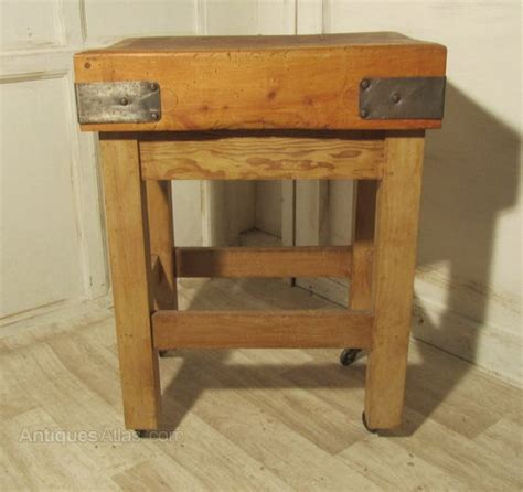 used butcher block for sale a maple butchers block chopping table board