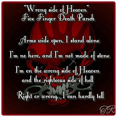 five finger death punch wrong side of heaven quot wrong side of heaven quot five finger death punch my