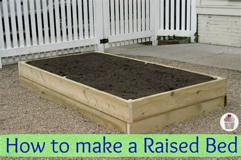 how to make a raised garden bed cheap how to make a raised vegetable garden woodworking