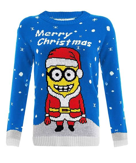 waitrose child christmas jumper knitted turtle christams olaf minion reindeer rodulph jumper top ebay