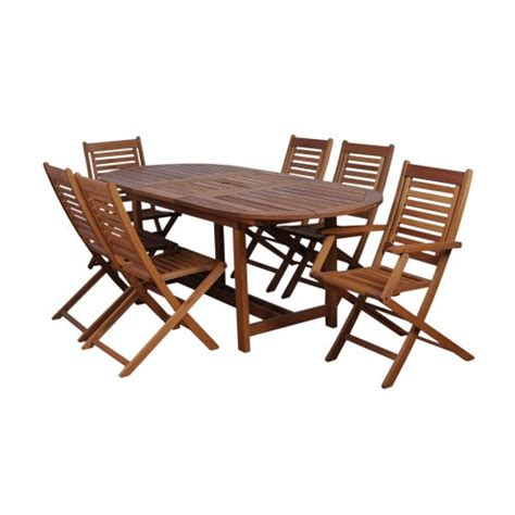 patio sets clearance amazonia 7 extendable