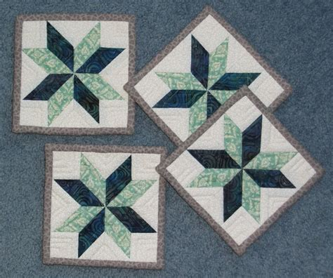 Rug Coasters by You To See 4 Quot Coasters Mug Rugs On Craftsy