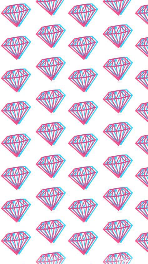 whatsapp themes tumblr 3d diamonds iphone wallpaper diamond wallpapers