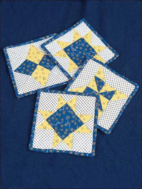 Quilted Coaster Pattern by Quilting Table Topper Quilt Patterns Shine