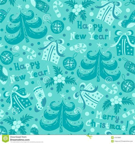 new year seamless pattern vector seamless pattern new year 2015 vector illustration