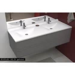 creazur plan vasque blanc 140cm achat vente