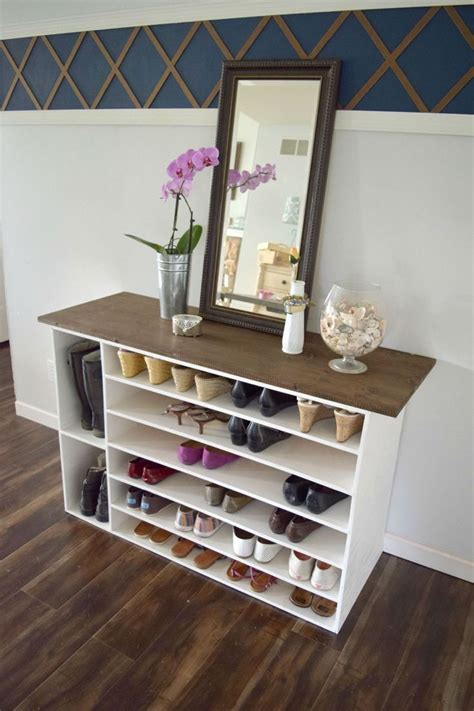 diy shoe storage cabinet best 20 shoe racks ideas on diy shoe storage