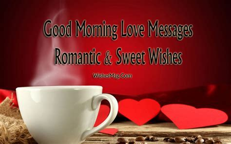 Good Morning Love Messages   Romantic & Sweet Wishes